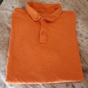 Men's GAP Lived-In Soft Orange Polo